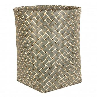 Large Grey Poplar Storage Basket