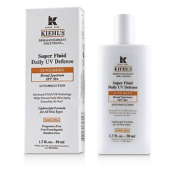 Kiehl's Dermatologist Solutions Super Fluid Uv Defense Sunscreen Spf 50+ - For All Skin Types - 50ml/1.7oz