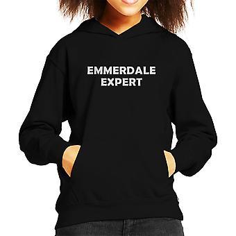 Emmerdale Expert Kid's Hooded Sweatshirt