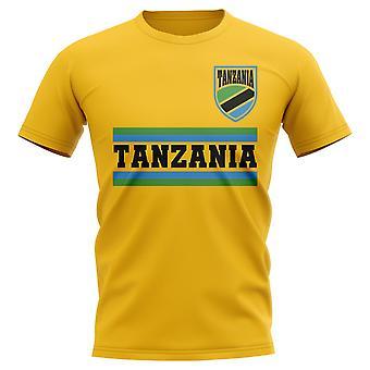 Tanzanie Core Football pays T-Shirt (marine)