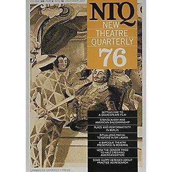 Neues Theater vierteljährlich 76 - Band 19 - Teil 4 - v. 19 - PT. 4 von Simon T