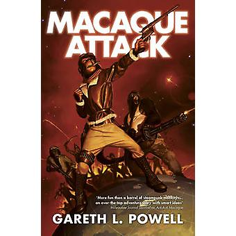 Macaque Attack by Gareth L. Powell - 9781781082850 Book
