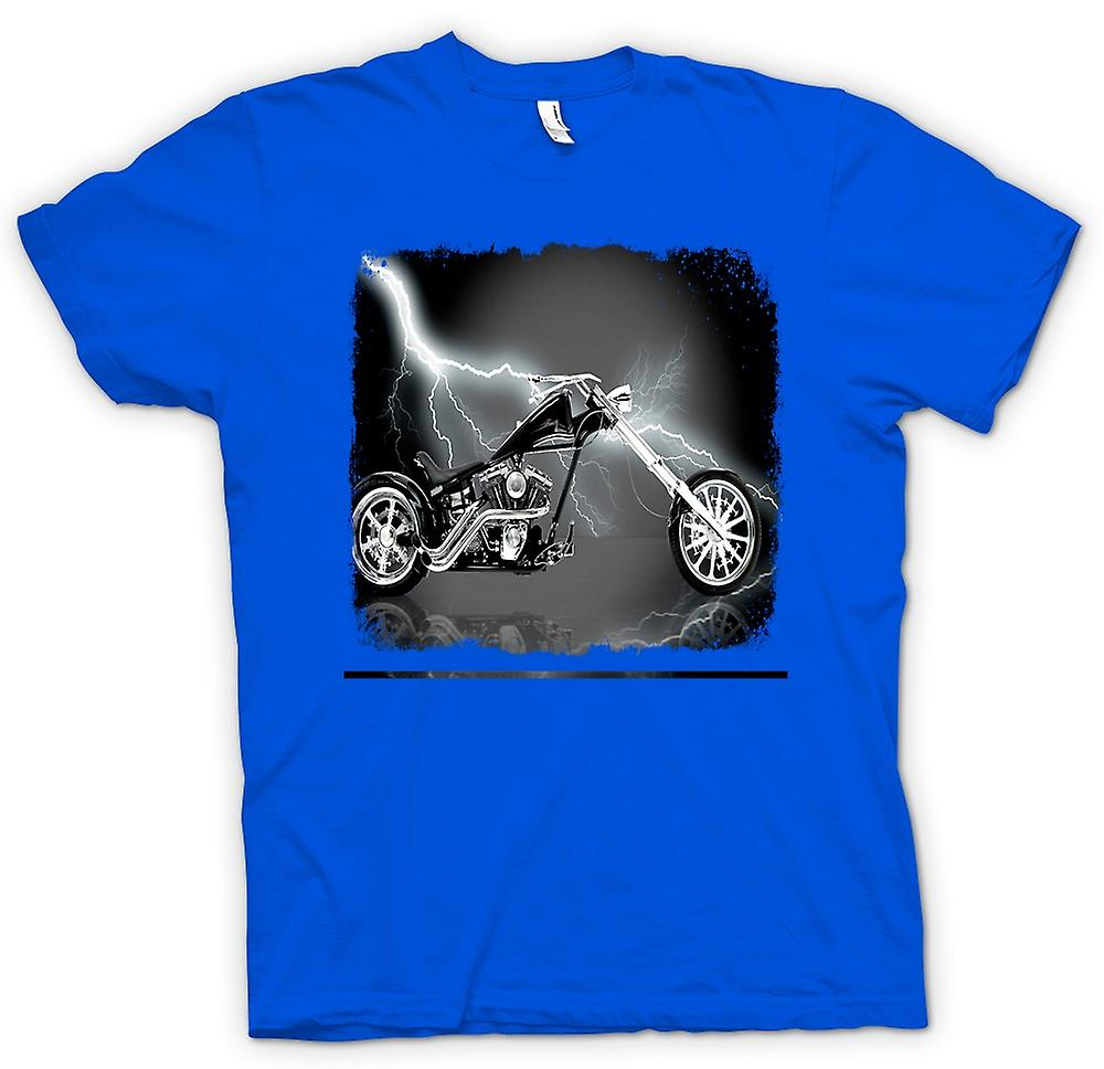 Hommes T-shirt - Chopper Biker Hog