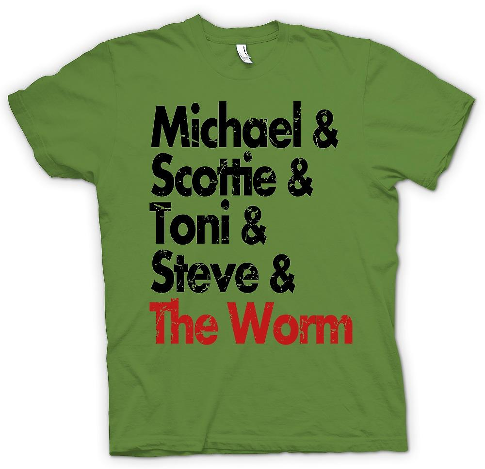 Mens t-shirt-Michael Scottie Tonie Steve e la vite senza fine