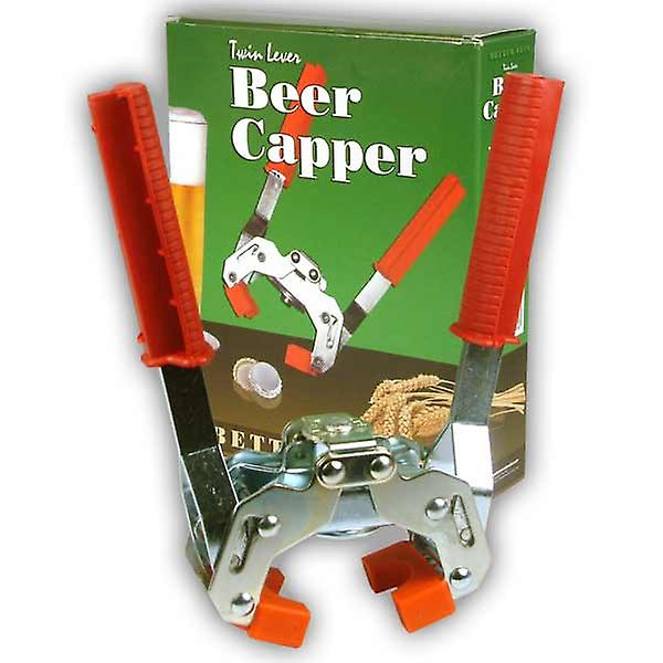 Beter brouwen Twin hefboom Crown Capper