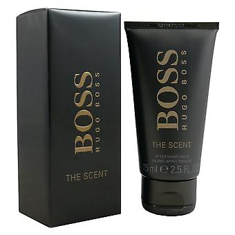 Hugo Boss boss duft 75 ml aftershave balsam efter barbere balsam som