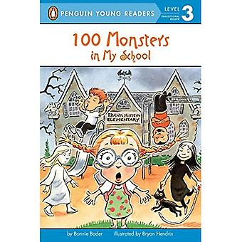 One Hundred Monsters in My School (All Aboard Math Reader: Level 2)