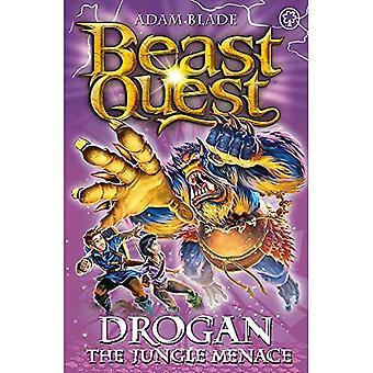 Drogan de Jungle Menace: boek 97 (Beast Quest)