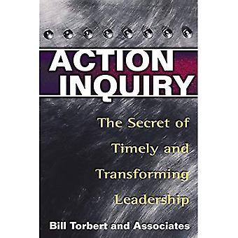 Åtgärd förfrågan - hemligheten med tid och omvandla ledarskap