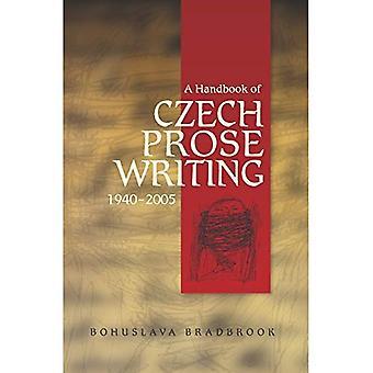 Handbuch der Tschechischen Prosa Schriften, 1940-2005