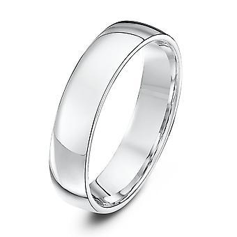Star Wedding Rings Palladium 950 Light Court 5mm Wedding Ring