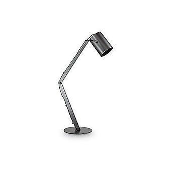 Idealne Lux - czarny regulowany stolik lampy IDL144863