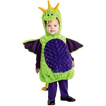 Plush Dragon Toddler Costume