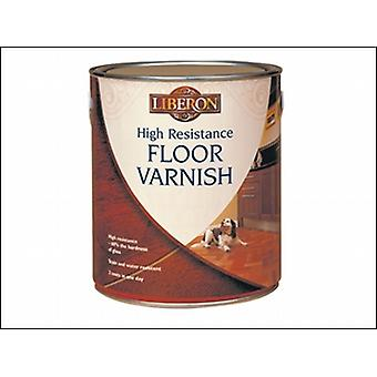 HIGH RESISTANCE FLOOR VARNISH CLEAR MATT 2.5 LITRE