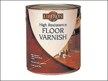 Liberon High Resistance Floor Varnish Clear Matt 2.5 Litre