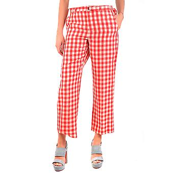 Red Valentino Red Cotton Pants