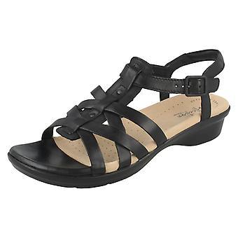 Ladies Clarks Strappy sandaler Loomis Katey