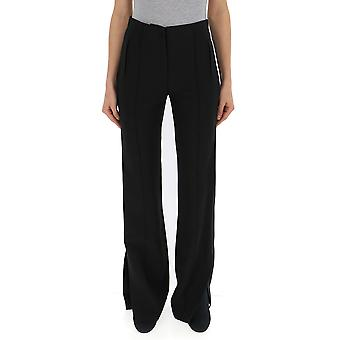 Elisabetta Franchi Black Cotton Pants