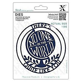 Xcut Dies There's No One in the World (1pc) (XCU 503118)