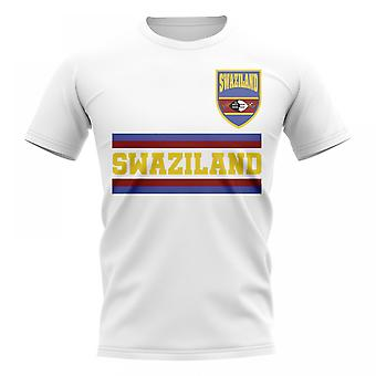 Swaziland Core Football Country T-Shirt (White)