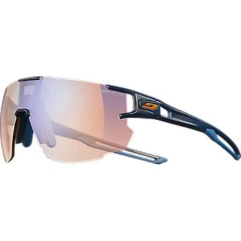 Julbo Aerospeed dark blue/dark blue/orange Zebra hellrot