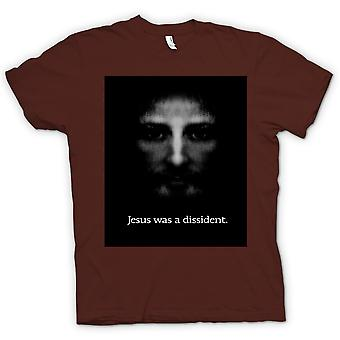Womens T-shirt - Jezus was een Dissident - pictogram T Shirt