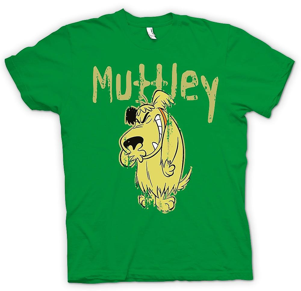 Herr T-shirt - Muttley - dålig hund - Funny
