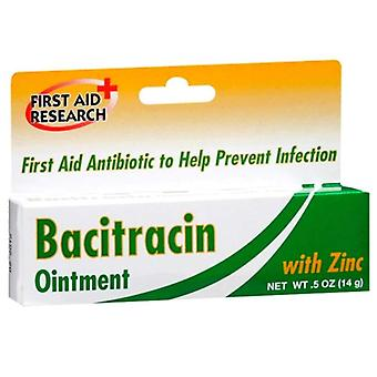First aid research bacitracin ointment with zinc, 0.5 oz