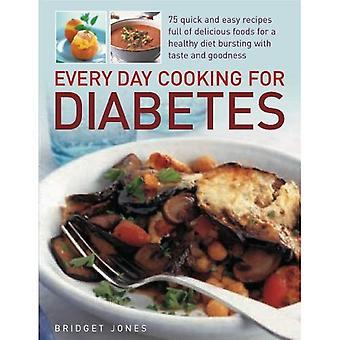 Cuisiner tous les jours pour le diabète