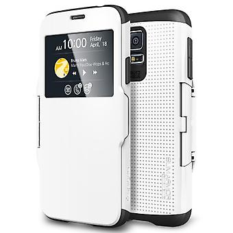 Spigen Samsung Galaxy S5 Case Slim Armor View Smooth White