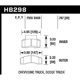 Hawk Performance HB298Y. 787 LTS