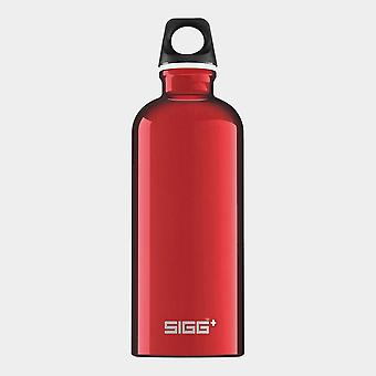 New Sigg Traveller Hydration Water Bottle 0.6 Litre Red