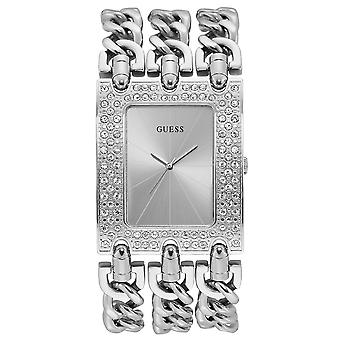 Guess watches ladies heavy metal watch for Women Analog Quartz with stainless steel bracelet W1275L1