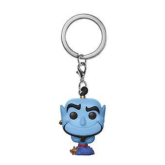 Disney Aladdin Pop! Keychain Schlüsselanhänger Genie Material: Vinyl & Metall. Hersteller: FUNKO.