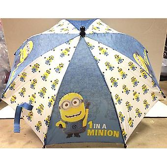 Umbrella - Minions - 1 In a Movie White & Blue (Youth/Kids) New 118710