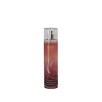 Bain et corps travaille Fine Fragrance Mist Warm Vanilla Sugar 8 oz / 236 ml