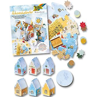Christmas Village Advent Calendar Craft Kit