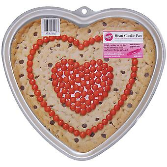 Giant Cookie Pan Heart 11.5