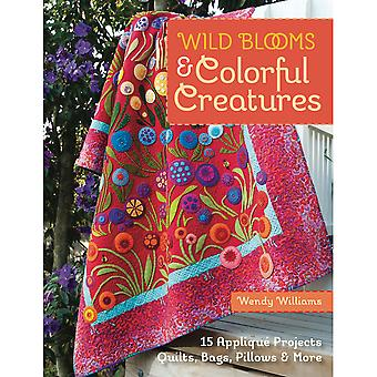 C & T Publishing Wild Blooms & Colorful Creatures Ct 11047