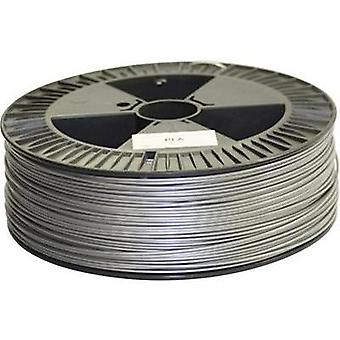 Filament German RepRap 100176 PLA plastic 3 mm Silver 2.1 kg