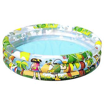 Bestway Swimming Pool 3 Tubes Dolphin 122 Cm