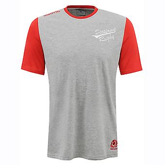 2016-2017 Scotland Macron Travel Cotton T-Shirt (Grey)