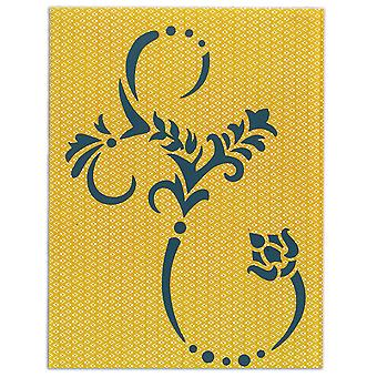 Sizzix Bigz Plus Dies-Botanical Flourish 661215