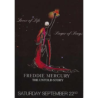 Freddie Mercury the Untold Story Movie Poster (11 x 17)