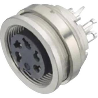 Binder 09-0320-00-05 Miniature Round Plug Connector Series 581 And 680 Nominal current: 5 A Number of pins: 5 Stereo-DIN