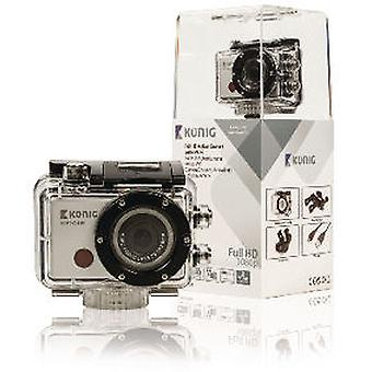 König Full Hd 1080P Camera Action Waterproof Case With Wi Fi