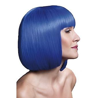 Smiffys feber Elise Wig Dame mode tilbehør Fancy Dress kort Retro