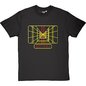 Death Star Targeting Display Men's T-Shirt