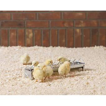 Daisy Chick Trough Feeder 38x7.2x7.7cm