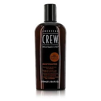 American Crew Men Daily Shampoo (For Normal to Oily Hair and Scalp) - 250ml/8.4oz